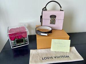 New! Louis Vuitton Spring Street - Rose Ballerine With Receipt