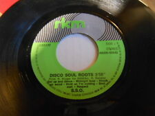 Disco Funk 45 S.S.O Disco Soul Roots b/w Andre Brasseur, Excellent