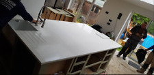 White Carrara Quartz Worktop Sample Kitchen Worktop Granite Marble Worktop 5