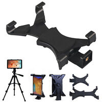 Universal Mini 7-9 Tablet Tripod Mount Clamp Adapter Holder For iPad 2 Gift
