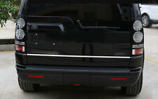 Rear Tail Gate Molding Trim Cover 1pcs For Land Rover LR4 Discovery 4 2010-2015