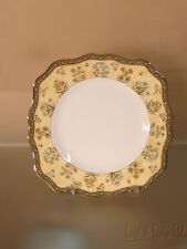 Wedgwood India Bone China Square Salad Plate-Never Used-More Available!