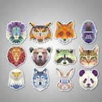 80pcs//set Stickers Cute Anlimals DIY Stickers Japanese Kawaii-Stickers Fine W2T1
