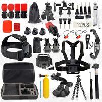 Accessories Kit Set for Gopro HERO8 7 6 5 Hero 3+ Hero 4 Session Hero 3 2 SJCAM