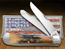 CASE XX Prime Stag Trapper Stainless Pocket Knives Knife