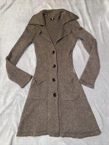 Armani Fitted Long Cardigan/dress Size UK8