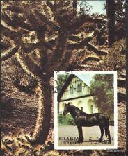 Sharjah Bloque 116 (compl.edición) usado 1972 caballos
