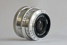 industar-50 3.5/50 50mm f/3.5 M39 Soviet USSR Lens KMZ copy Tessar
