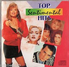 TOP SENTIMENTAL HITS - Rare Compilation CD - Elton John, Madonna, Peter Cetera +