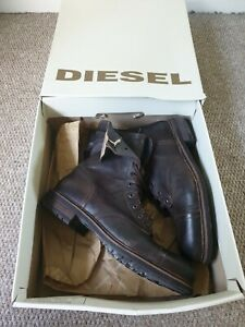 Mens Diesel Boots Leather - 11