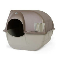Automatic Cleaning Litter Box Cat Large Box Scoop Pewter Best Fresh Clean Kitten
