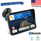 7'' Car & Truck GPS Navigation Navigator Sat Navi 8GB 256MB Canada US Bluetooth