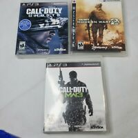 Call Of Duty PS3  Lot Games Black Ops 2  MW3 Ghosts Warfare  PlayStation