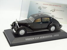 Ixo Presse 1/43 - Voisin C25 Aerodyne 1934 Noire
