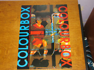 COLOURBOX - THE MOON IS BLUE - ORIGINAL UK 4AD PROMO POSTER