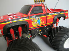 New Tamiya RC 1/10 Super ClodBuster Truck Black Rubber Fender Flare Flares Guard