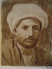 aquarelle vers 1910 . Maghreb . Algérien ou Tunisien