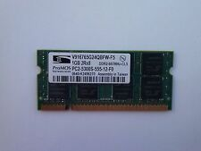 ProMOS 1 GB PC2-5300S-555-12-E1 V916765 Laptop Memory Ram Tested DDR2 667mhz cl5