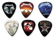 Metallica Conjunto de 6 Colección Suelto Guitar Picks (B)