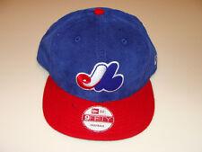 New Era Montreal Expos Cord Mix Snapback Cap Hat MLB Baseball Adjustable OSFM