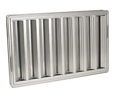 Exhaust Hood Grease Filter Baffle 16x25 Stainless Steel Chg Nfpa 31265