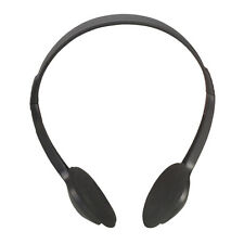 SoundLab Lightweight Stereo Computer TV Music Audio Headphones 2M Lead