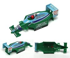 1996 Micro ScaleXtric Indy Ford F-1 Benetton Elf Minol #5 Sanyo Slot Car BODY