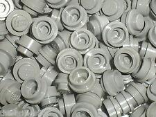 10 OldGray round Plates 1 x 1 ref 4073 LEGO / Set 5571 9754 5541 5591 5561 7191