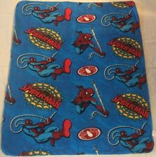 "Marvel Spiderman 40"" x 50"" Blanket Throw Soft NEW Spider-Man"