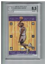 Vince Carter 1998-99 UPPER DECK ROOKIE GRADED NM/MINT 8.5 & OTHERS