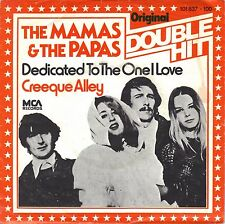 """7"""" Mamas & The Papas – Dedicated To The One I Love / Double Hit // Germany"""