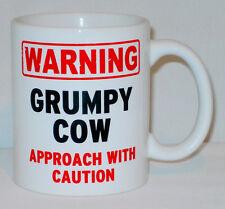 Warnung Mürrisch Kuh Becher Kann Zum Personalisieren - Lustig Mum Muttertag