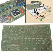 5-12V DIY Bausatz Kit 6 Digital LED Elektronik Uhr AT89C2051 10 cm x 5.2 cm
