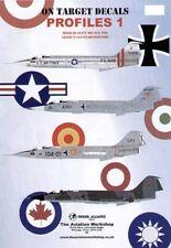 NEW 1:48 Model Alliance Decals 48108 On Target Lockheed F-104 Starfighters