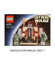 (Instructions) for LEGO 4476 - Star Wars: Jabba's Prize - MANUAL ONLY