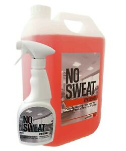 No Sweat Gym Equipment Cleaner & Sweat Remover 5L Cherry With Spray