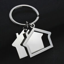 New Creative Cabin Small House Key Ring Keyring Keychain Pendant Gift