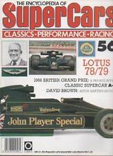 SUPER CARS MAGAZINE  VOLUME 5  ISSUE 56  LOTUS 78/79   LS