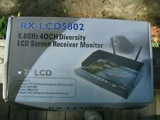 RX-LCD5802 5.8Ghz TFT LCD FPV Wireless Monitor for Drone Program