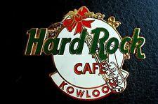 HRC Hard Rock Cafe Kowloon Christmas 1996 Logo
