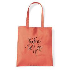 Art T-shirt, Borsa  Pink Floyd The Wall Firma, Corallo, Shopper, Mare