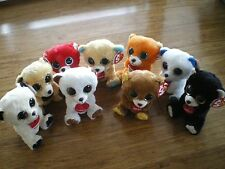 Ty Beanie Boos 1 lot of 9 x  European bears 6 inch NWMT.FREE POST IN AUST. ONLY