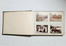 Ancien Album 198 photos Famille Bourgeoise région Jura ou Haute-Savoie 1911-1913