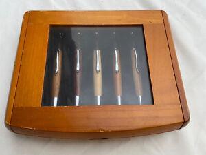 JCF Solid Wood Pen Premium Gift Set