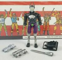 Original 2004 GI JOE Cobra BAT V4 ARAH not Complete UNBROKEN figure Purple V9