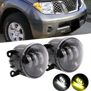 For Ford Explorer 2011-2015 Clear Lens Bumper LED Fog Light Lamp OE Replacement