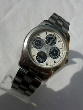ANCIENNE FOCUS MULTIFONCTION DAME,DATE,JOURS,MOIS & PHASE NUIT/JOUR ANNEES 70