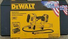 DEWALT 20V  MAX* DCGG571M1  GREASE GUN KIT New 2020 datecode