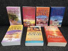 Mariah Strewart Lote de 7 libros de Chesapeake Diaries volviendo a casa ciudad natal Chica Priceles