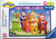 TELETUBBIES crema pasticcera Caos 16 PC Giant Floor Puzzle-Brand New & Sealed!